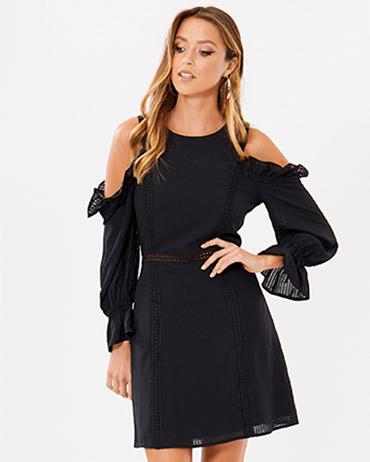 Mimi Cold Shoulder Dress